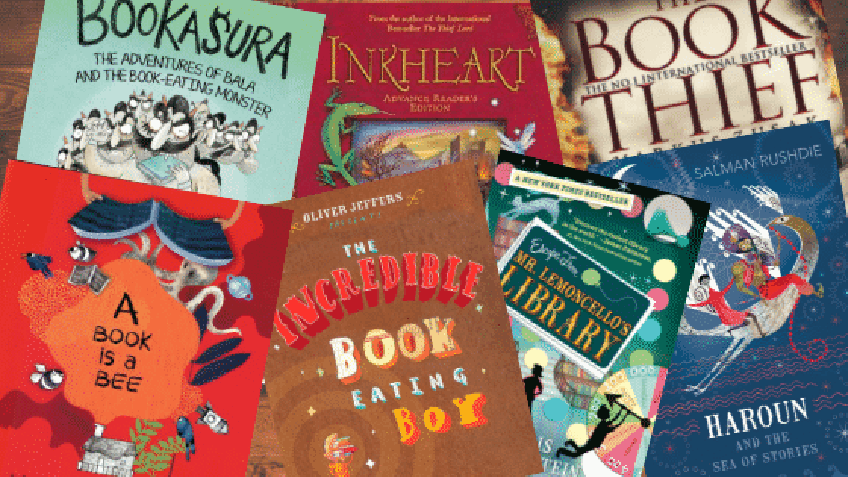 Parents: 7 Books about Book Love