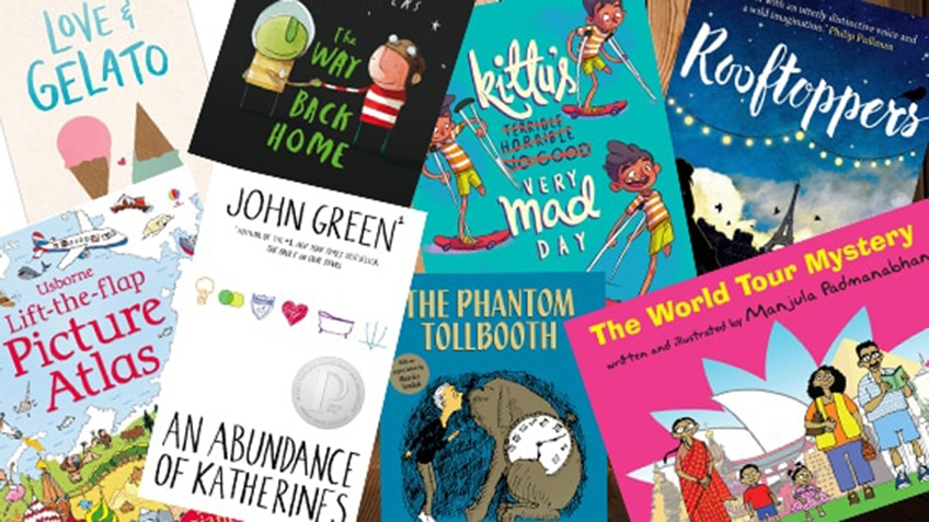 8 Story Books that Explore Travelling & Journeys