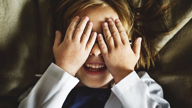 Babies & Toddlers Learn Object Permanence by Playing Peekaboo