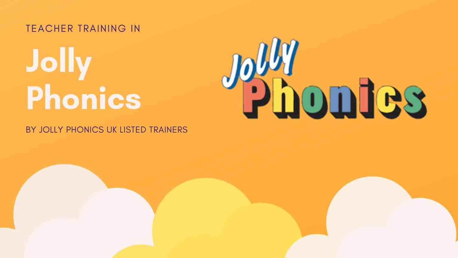 Training in Jolly Phonics