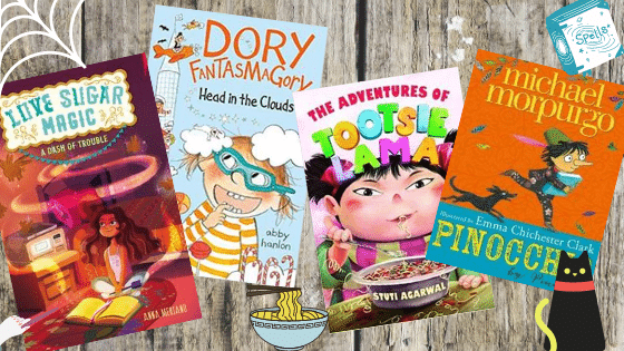 4 Books for Mischief Makers